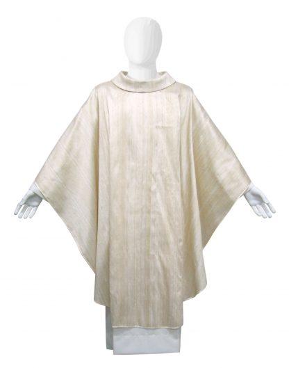 casula sacerdotale bianco avorio